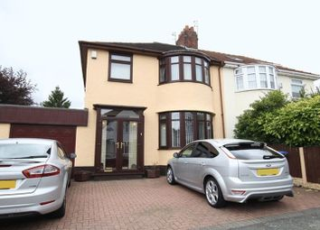 Thumbnail 3 bed semi-detached house for sale in Childwall Mount Road, Childwall, Liverpool