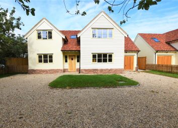 Thumbnail 4 bed detached house for sale in Lower Green, Wimbish, Saffron Walden
