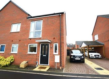Thumbnail 2 bed semi-detached house for sale in Centurion Crescent, Newcastle, Newcastle