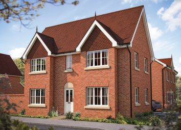 "Thumbnail 3 bed semi-detached house for sale in ""The Woburn"" at Ribbans Park Road, Ipswich"