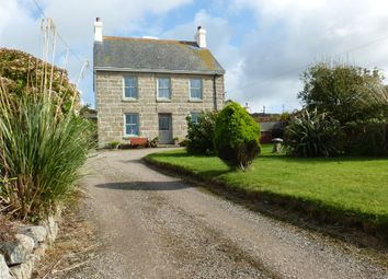 Thumbnail 4 bed detached house for sale in Jubilee Place, Pendeen, Penzance