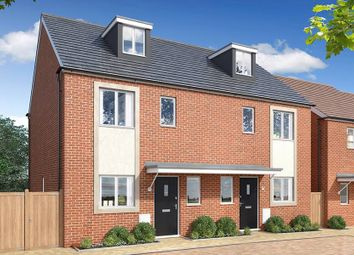 "Thumbnail 3 bedroom semi-detached house for sale in ""The Ewhurst"" at West Lake Avenue, Hampton Vale, Peterborough"