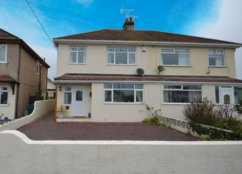 Thumbnail 3 bed semi-detached house for sale in Towyn Road, Pensarn