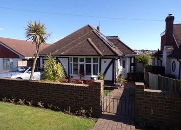 Thumbnail 3 bed bungalow for sale in Lustrells Crescent, Saltdean, Brighton, East Sussex