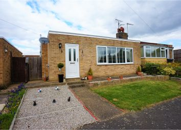 Thumbnail 3 bed semi-detached bungalow for sale in Orchard Close, Cherry Willingham, Lincoln