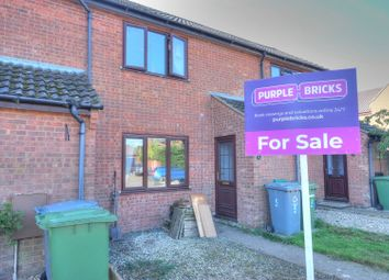 Thumbnail 2 bed terraced house for sale in Highfield Close, Foulsham, Dereham