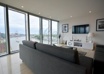 Thumbnail 2 bed flat to rent in The Tower, St George Wharf