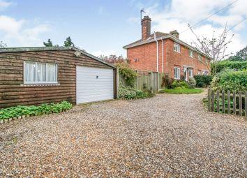 Thumbnail 3 bed semi-detached house for sale in Chapel Road, Halvergate, Norwich