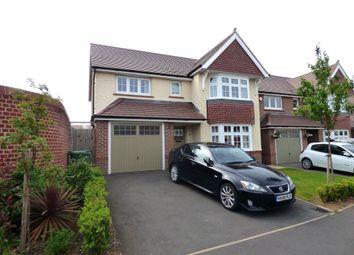 Thumbnail 4 bedroom detached house to rent in Bronze Road, Cawston, Rugby