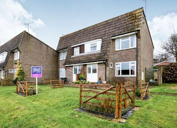 Thumbnail 3 bed semi-detached house for sale in Dellfield, Froxfield, Petersfield