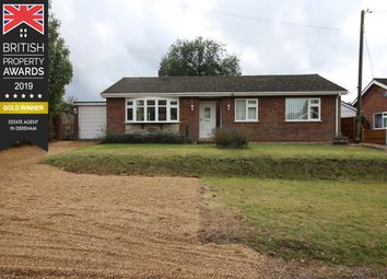 Thumbnail 3 bed detached bungalow for sale in Church Road, Beetley, Dereham