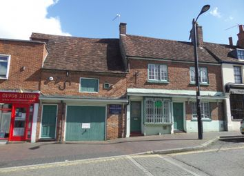 Thumbnail 4 bed terraced house for sale in High Street, Newport Pagnell, Buckinghamshire