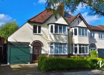 Ingestre Road, Hall Green, Birmingham B28. 3 bed semi-detached house