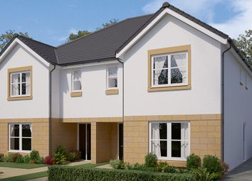 "Thumbnail 4 bed semi-detached house for sale in ""The Glastonbury"" at Bowmont Terrace, Dunbar"