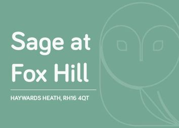 Thumbnail 2 bed flat for sale in Fox Hill, Haywards Heath, West Sussex