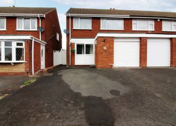 Thumbnail 3 bed semi-detached house for sale in Baynton Road, Willenhall
