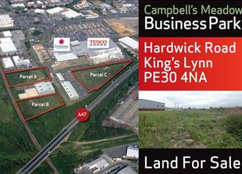 Thumbnail Land for sale in Campbell's Meadow Business Park, Hardwick Road, King's Lynn