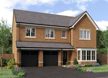 "Thumbnail 5 bedroom detached house for sale in ""The Buttermere"" at Weldon Road, Cramlington"