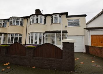 Thumbnail 4 bed semi-detached house to rent in Brodie Avenue, Allerton, Liverpool