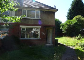 Thumbnail 2 bed semi-detached house to rent in Malham Avenue, Bradford 9