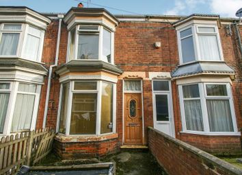 Thumbnail 2 bed terraced house to rent in Chestnut Avenue, Montrose Street, Hull