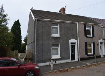 Thumbnail 2 bed end terrace house to rent in Station Road, Fforestfach, Swansea