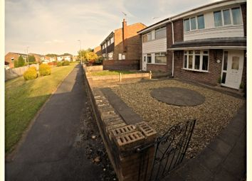 Thumbnail 3 bedroom semi-detached house for sale in Mannin Close, Stoke-On-Trent