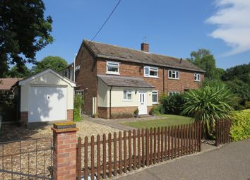 Thumbnail 4 bed semi-detached house for sale in The Park, East Harling, Norwich