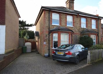 Thumbnail 2 bed semi-detached house for sale in Grove Road, Ashtead