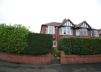 Thumbnail 3 bed semi-detached house for sale in Polwarth Crescent, Gosforth, Newcastle Upon Tyne