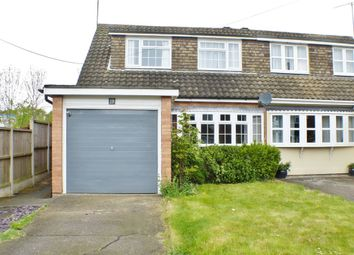 Thumbnail 3 bed semi-detached house to rent in Norsey View Drive, Billericay