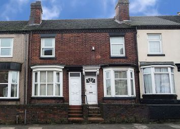 Thumbnail 2 bed terraced house to rent in Grove Road, Heron Cross, Stoke-On-Trent