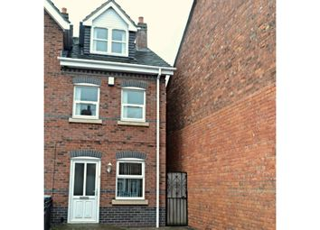 Thumbnail 4 bedroom terraced house for sale in Chambers Street, Crewe