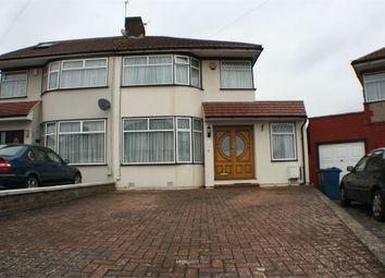 Thumbnail 4 bed semi-detached house for sale in Langland Crescent, Stanmore, Middlesex