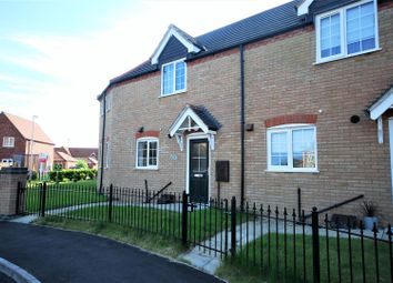 Thumbnail 2 bed terraced house for sale in Bluebell Close, Spalding