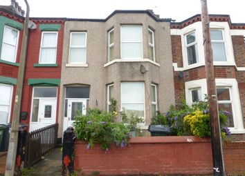 Thumbnail 4 bedroom terraced house for sale in Rice Lane, Wallasey