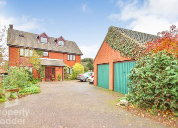 Thumbnail 6 bed detached house for sale in Norwich Road, Horstead, Norwich