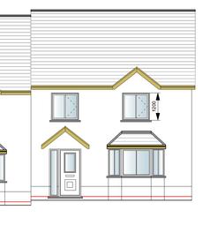 Thumbnail 3 bed semi-detached house for sale in Site Opposite Brogeler Estate, Llangeler, Carmarthen