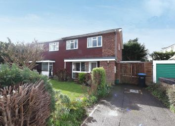 Thumbnail 4 bedroom end terrace house to rent in Crockford Close, Addlestone