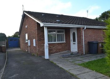 Thumbnail 2 bedroom semi-detached bungalow to rent in Meadow Lane, Newhall, Swadlincote