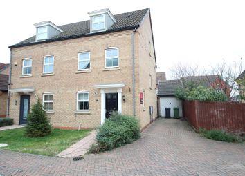 Thumbnail 3 bed semi-detached house for sale in Vars Road, Hampton Hargate, Peterborough