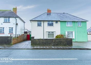 Thumbnail 3 bed semi-detached house for sale in St Johns Road, Pembroke Dock, Pembrokeshire