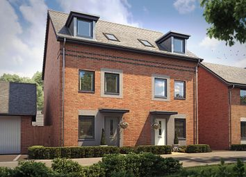 "Thumbnail 3 bedroom end terrace house for sale in ""Norbury"" at Langaton Lane, Pinhoe, Exeter"