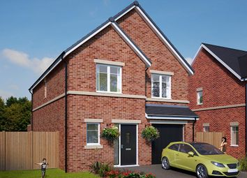 "Thumbnail 4 bed detached house for sale in ""The Ashbury"" at Standbridge Lane, Crigglestone, Wakefield"