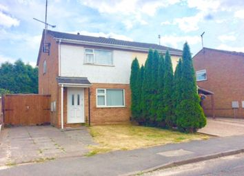 Thumbnail 2 bed semi-detached house to rent in Tresillian Road, Exhall, Coventry