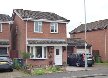 Thumbnail 3 bed detached house for sale in Primrose Crescent, St Peters, Worcester, Worcestershire