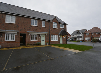 Thumbnail 3 bed terraced house for sale in Heathland Close, Buckley