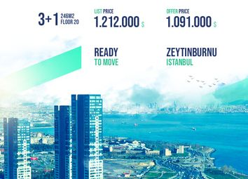 Thumbnail 3 bed apartment for sale in Apartment With Sea View, Zeytinburnu, Istanbul, Marmara, Turkey