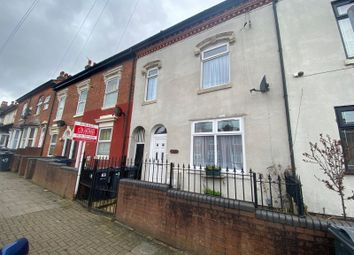 Thumbnail 4 bed terraced house for sale in Robert Road, Birmingham