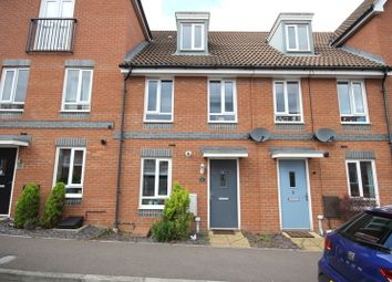 Thumbnail 3 bed town house for sale in Crossbill Close, Costessey, Norwich